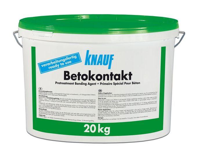 Купить Грунтовка адгезионная Knauf Betokontakt, 20 кг — Фото №1