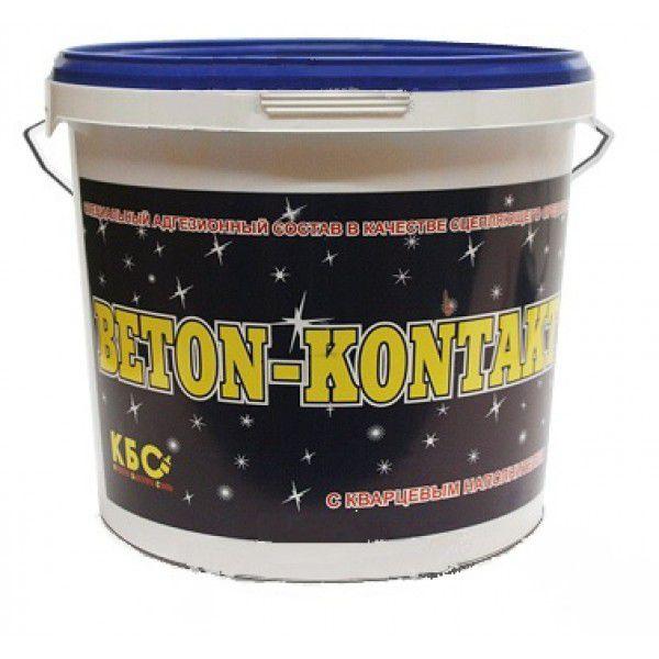 Купить Грунтовка для бетона акриловая КБС Бетоноконтакт, 5 кг — Фото №1