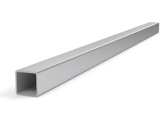 Купить Труба профильная квадратная 20х20 мм, толщина стенки 1.5 мм — Фото №1