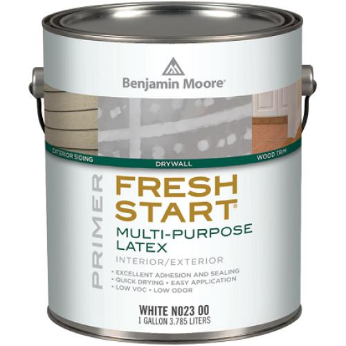Benjamin Moore 023 Fresh Start, 3.785 л, Грунтовка универсальная латексная