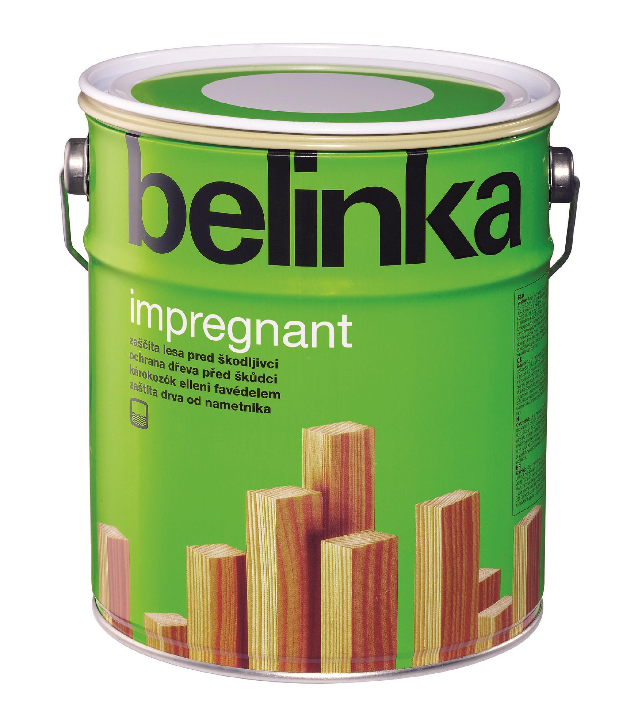 Грунт-антисептик по дереву Belinka Impregnant (прозрачный), 10 л