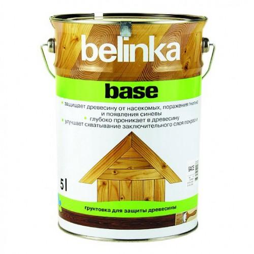 Грунт-антисептик по дереву Belinka Base (прозрачный), 5 л
