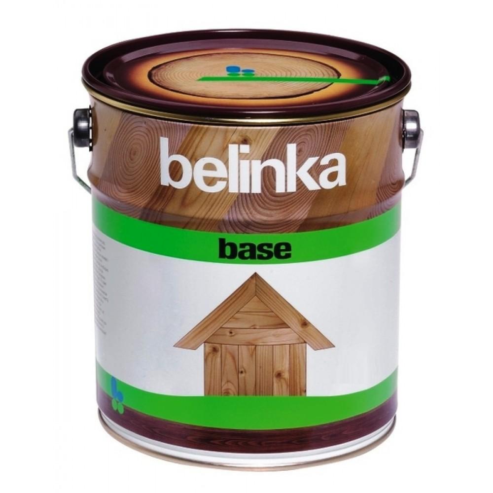 Грунт-антисептик по дереву Belinka Base (прозрачный), 10 л