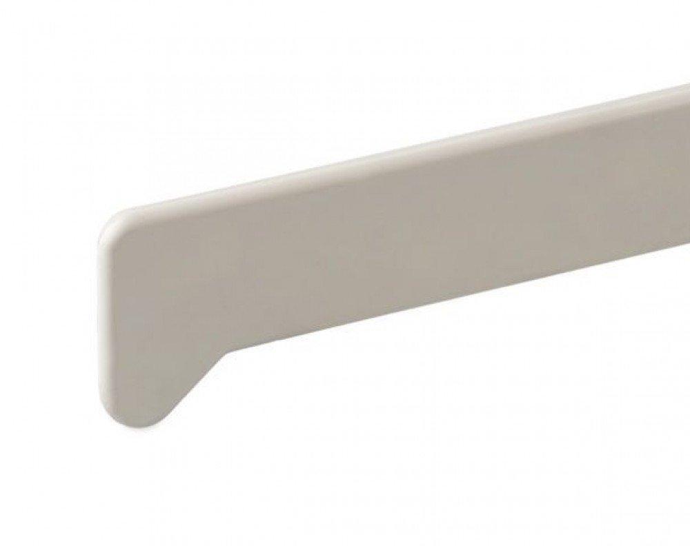 Купить Комплект заглушек для подоконника ПВХ (левая и правая) Moeller (белые матовые), длина 47 см — Фото №1