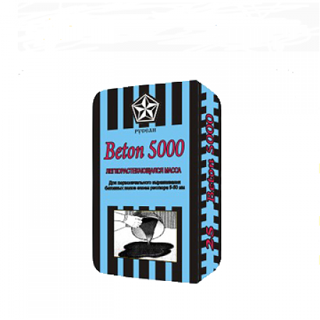 Купить Наливной пол самовыравнивающийся Русеан Beton 5000, 25 кг — Фото №1