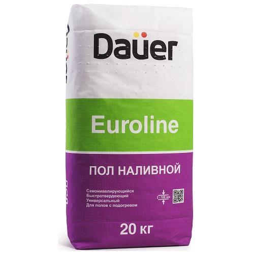 Купить Наливной пол быстротвердеющий Dauer Euroline, 20 кг — Фото №1