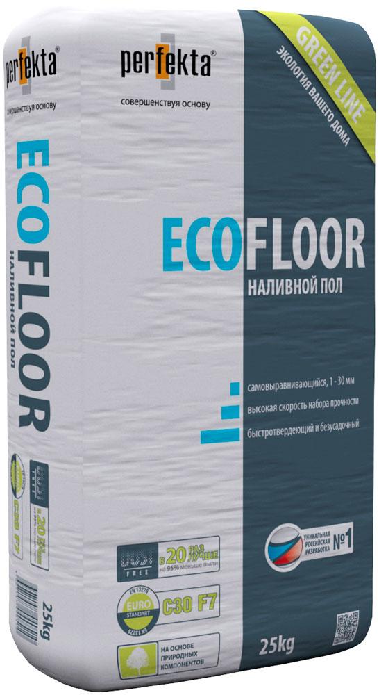 Купить Наливной пол безусадочный Perfekta Green Line EcoFloor, 25 кг — Фото №1