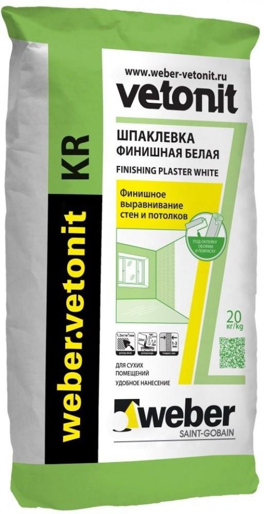 Купить Weber.Vetonit KR (белая), 20 кг — Фото №1
