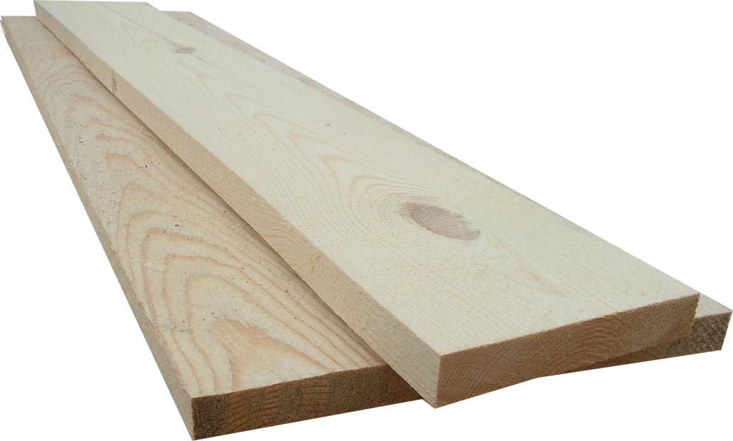 Купить Доска обрезная хвойная ГОСТ (1 сорт) 25х150 мм, длина 3 м — Фото №1