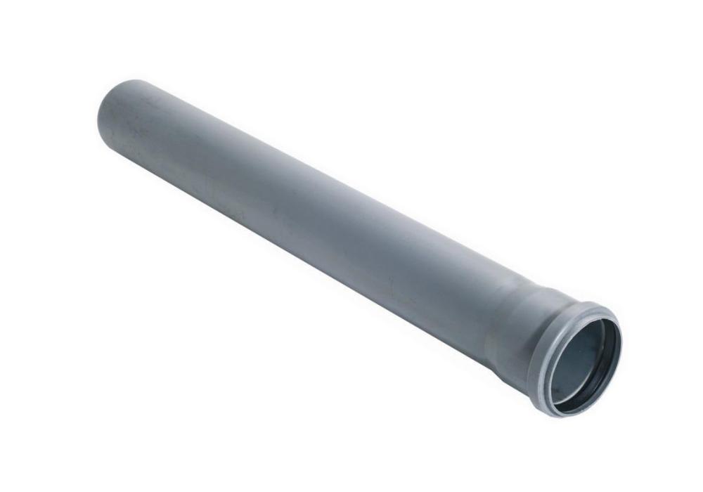 Купить Труба канализационная внутренняя Стандарт 50 мм, длина 1 м — Фото №1