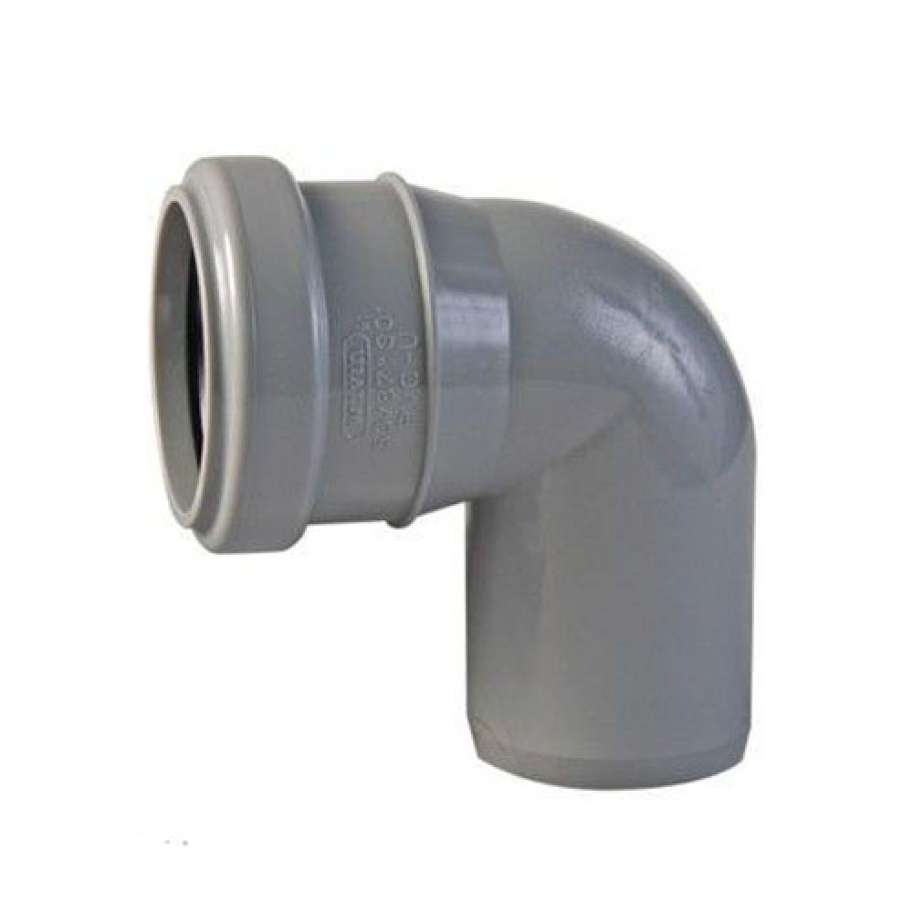 Купить Отвод канализационный, диаметр 50 мм (угол 90°) — Фото №1