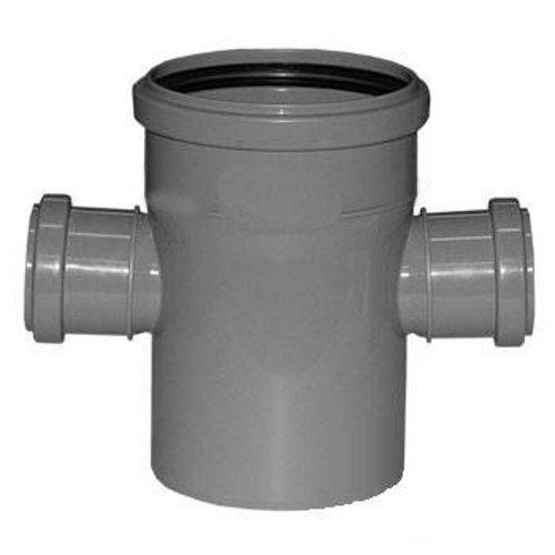 Купить Крестовина канализационная, диаметр 110х50х50 мм (угол 90°) — Фото №1